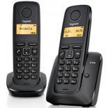 Телефон DECT Gigaset A120 DUO Black Фото