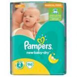 Подгузник Pampers New Baby-Dry Mini Размер 2 (3-6 кг), 94 шт Фото 1