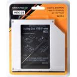 Фрейм-переходник Grand-X HDD 2.5'' to notebook ODD SATA/mSATA Фото 2