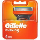 Сменные кассеты Gillette Fusion 4 шт Фото
