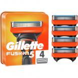 Сменные кассеты Gillette Fusion 4 шт Фото 1