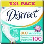 Ежедневные прокладки Discreet Deo Water Lily 100 шт Фото