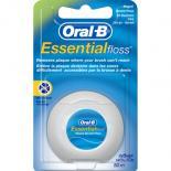 Зубная нить Oral-B Essential floss Waxed мятная 50 м Фото
