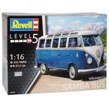 Сборная модель Revell Автобус Volkswagen T1 Samba Bus 1:16 Фото