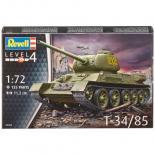 Сборная модель Revell Советский танк T-34/85 1:72 Фото