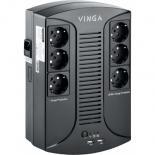 Источник бесперебойного питания Vinga 800VA-PU,  2USB*5V /1A Фото 1
