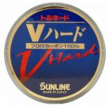 Флюорокарбон Sunline FC Tornado V Hard HG 50м #10 0.52мм 20кг Фото
