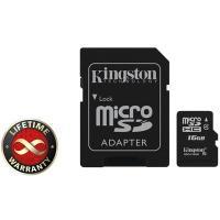 Карта пам'яті Kingston 16Gb microSDHC class 4 Фото
