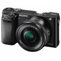 Цифровой фотоаппарат Sony Alpha 6000 kit 16-50mm Black Фото