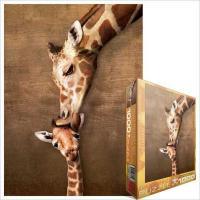 Пазл Eurographics Жирафы - материнский поцелуй Фото