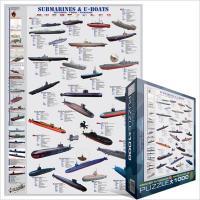 Пазл Eurographics Подводные лодки Фото