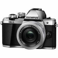 Цифровой фотоаппарат OLYMPUS E-M10 mark II Pancake Zoom 14-42 Kit silver/silver Фото
