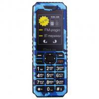 Мобильный телефон Sigma X-style 11 Dual Sim Blue Camouflage Фото