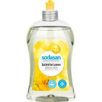 Средство для мытья посуды Sodasan Лимон 500 мл Фото