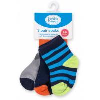 Шкарпетки Luvable Friends 3 пары цветные, для мальчиков Фото
