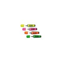 Маркер BUROMAX highlighter pen, chisel tip, SET 4 colors Фото