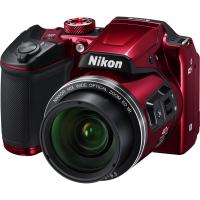 Цифровой фотоаппарат Nikon Coolpix B500 Red Фото