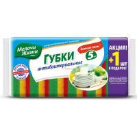 Губки кухонные Мелочи Жизни антибактериальные 5+1 шт Фото