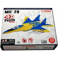 Пазл 4D Master Истребитель МиГ-29 UA colors Фото