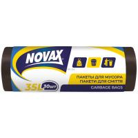 Пакеты для мусора Novax 35 л 30 шт Фото