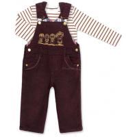 Набор детской одежды Aziz комбинезон коричневый джинсовый с регланом Фото