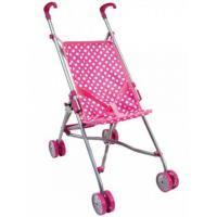 Коляска для кукол Bino Прогулка розовая Фото