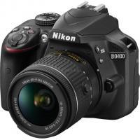 Цифровой фотоаппарат Nikon D3400 AF-P 18-55 Non-VR KIT Фото