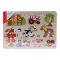 Развивающая игрушка Goki Ферма Фото