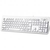 Клавиатура Genius SlimStar 130 White USB Ru Фото