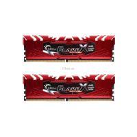 Модуль памяти для компьютера G.Skill DDR4 16GB (2x8GB) 2400 MHz Flare X Red Фото