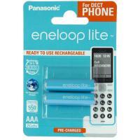 Аккумулятор Panasonic Eneloop Lite AAA 550mAh NI-MH Dect Series * 2 Фото