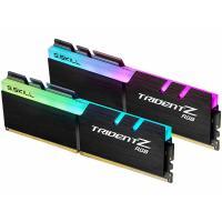 Модуль пам'яті для комп'ютера G.Skill DDR4 16GB (2x8GB) 3000 MHz TridentZ RGB Black Фото