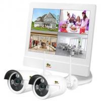 Комплект видеонаблюдения Partizan Outdoor Wireless Kit LCD 1MP 2xIP Фото
