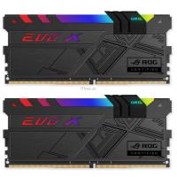 Модуль памяти для компьютера GEIL DDR4 16GB (2x8GB) 3000 MHz EVO X ROG Black RGB LED Фото