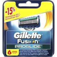 Сменные кассеты Gillette Fusion Proglide 6 шт Фото