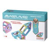 Конструктор Magplayer магнитный набор 14 эл Фото