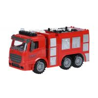 Спецтехника Same Toy инерционная Truck Пожарная машина со светом и звук Фото