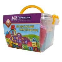 Конструктор Магнікон 84 детали Plastic box Фото