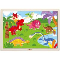 Пазл Viga Toys Динозавр Фото