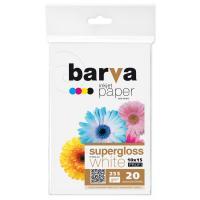 Папір Barva 10x15, 255 g/m2, PROFI, 20арк, supergloss Фото