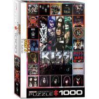 Пазл Eurographics KISS. Альбомы 1000 элементов Фото