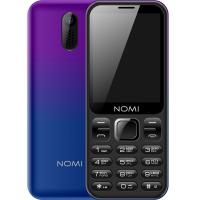 Мобільний телефон Nomi i284 Violet-Blue Фото