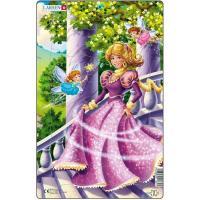 Пазл Larsen рамка-вкладыш Принцесса в розовом серия МИДИ Фото