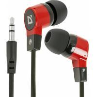 Навушники Defender Basic 619 Black-Red Фото