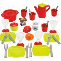 Игровой набор Ecoiffier посуды Chef с продуктами в боксе Фото