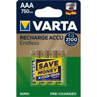 Акумулятор Varta AAA Rechargeable Accu 750mAh * 4 Фото