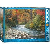 Пазл Eurographics Лесной ручей, 1000 элементов Фото