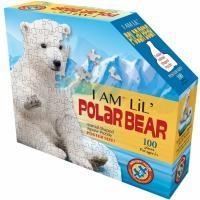 Пазл I AM Полярный медведь 100шт Фото