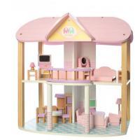 Ігровий набір Bambi Деревянный домик для кукол Фото
