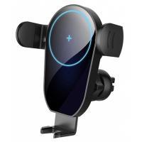 Универсальный автодержатель ColorWay AutoSense Car whith Wireless Charger 15W Black Фото